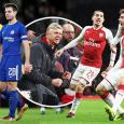 Arsenal 2 - Chelsea 1 (2-1 ogg): Gunners sneak into EFL Cup final after stroke of fortune
