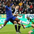 Chelsea beaten by Newcastle with Hayden's stoppage-time winner