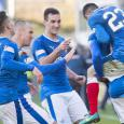 Partick Thistle 1 - Rangers 2: Supersub Dodoo earns all three points with late winner