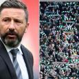 Aberdeen boss Derek McInnes apologises for reaction to 'sad orange b******' chant against