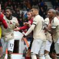 Man Utd and Bournemouth players clash in heated incident after penalty decision