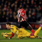 Relief for Adrian after slip-up