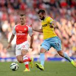 Unconvincing performance from Arsenal