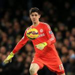 Courtois makes shoot-out admission