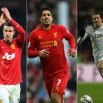 PFA Players' Player Of The Year candidates. Van Persie, Michu, Suarez?