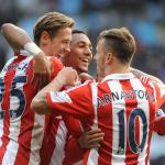 Stoke City came back from 1-0 down to secure the 4-1 win over Aston Villa at Villa Park
