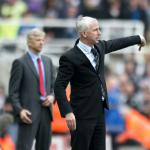 Pardew hoping to stun Gunners