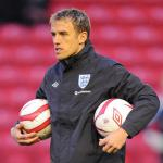 Everton's Neville tipped for player-coach job