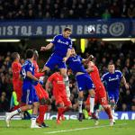 Ivanovic header sends Blues through
