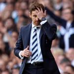 Tottenham boss Andre Villas-Boas laments penalty decision
