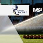 Berwick 0-2 Elgin: Match Report