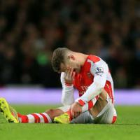 Arsenal's Wilshere set for absence