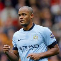 Kompany back in training