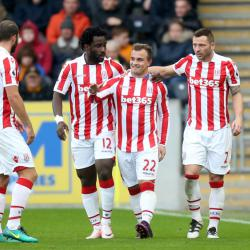 Stoke boss Mark Hughes hails Xherdan Shaqiri after his brace sinks Hull