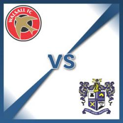 Walsall V Bury at Banks's Stadium : Match Preview