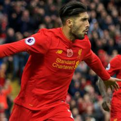 Liverpool's Emre Can Could Miss Chelsea Clash With Muscle Problem