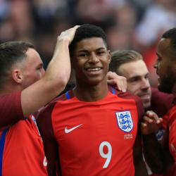 Marcus Rashford's continued rise delights his England team-mates