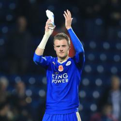 Jamie Vardy urges Leicester to remain calm ahead of Arsenal showdown