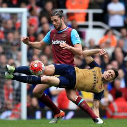 West Ham --- Arsenal: Match Report