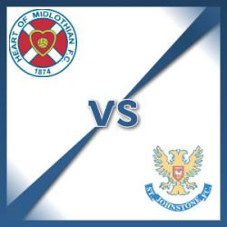 Hearts V St Johnstone at Tynecastle Stadium : Match Preview