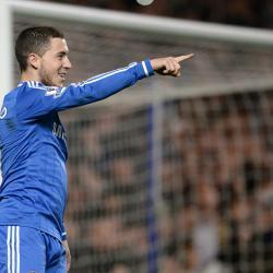 Chelsea sweating on fitness of winger Eden Hazard