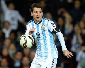 Injured Lionel Messi to miss Argentina's World Cup qualifier against Venezuela