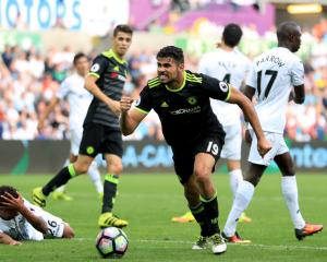 Diego Costa takes centre stage as Chelsea scramble point after promising start