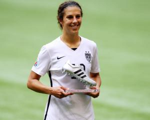 Women's Player of the Year Carli Lloyd signs for Manchester City