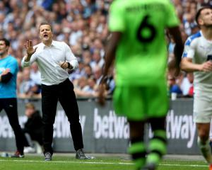 Mark Cooper was determined to be the manager celebrating after play-off final