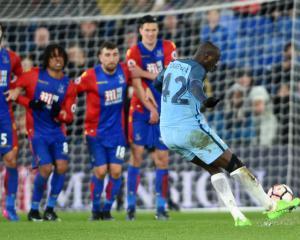 Crystal Palace boss Sam Allardyce thinks Yaya Toure should have seen red