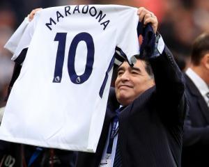 Diego Maradona and Kobe Bryant jump on Tottenham bandwagon