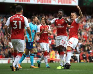 Danny Welbeck at the double as Arsenal beat Bournemouth