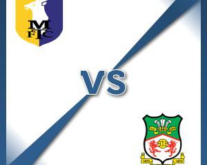 Wrexham away at Mansfield Town - Follow LIVE text commentary