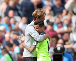 No Reds return for Philippe Coutinho against Manchester City
