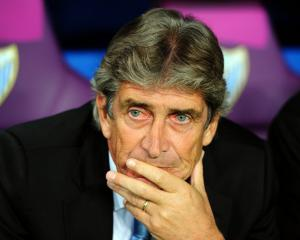 Malaga boss Manuel Pellegrini still hopeful