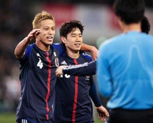 Japan set sights on World Cup quarter-finals
