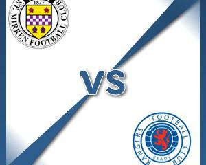 St Mirren V Rangers at St Mirren Park : Match Preview