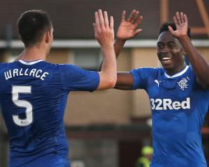 Rangers Welcome Back Wallace And Wilson