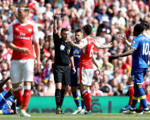 Laurent Koscielny to miss FA Cup final following unsuccessful red-card appeal