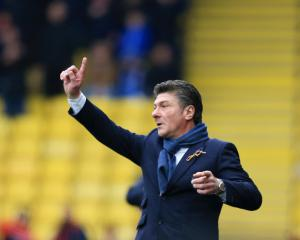 Walter Mazzarri not fearing the sack at Watford
