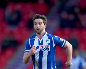 Will Grigg's on fire, the singles chart is terrified
