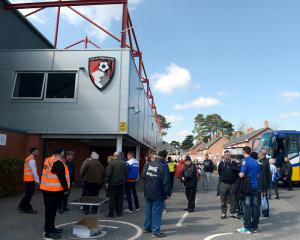No stadium expansion for Cherries