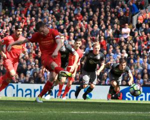 James Milner apologises to Liverpool team-mates for penalty miss against Saints