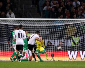 Germany prove too much for spirited Northern Ireland