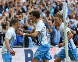 Rare joy for Coventry as they beat Oxford at Wembley to land Checkatrade Trophy