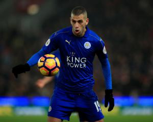 Leicester striker Islam Slimani sidelined for FA Cup clash with Millwall