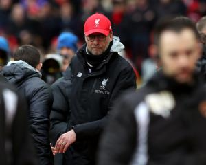 Liverpool boss Jurgen Klopp says it's impossible to go lower after cup exit
