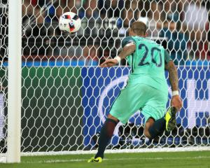 Ricardo Quaresma goal puts Portugal into quarter-finals