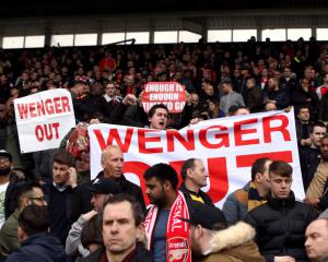 Arsenal Supporters Trust members want Arsene Wenger to leave