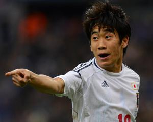 Japan edges Costa Rica in World Cup warm-up